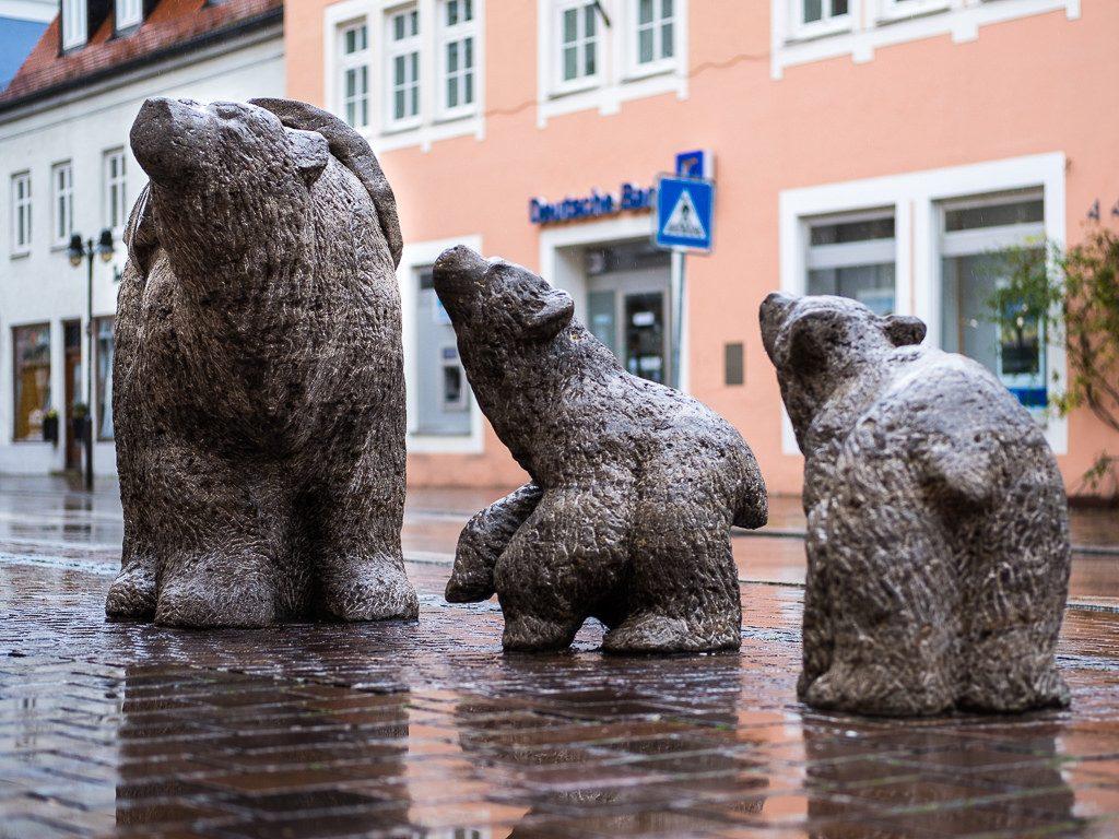 Bärenskulpturen Freising