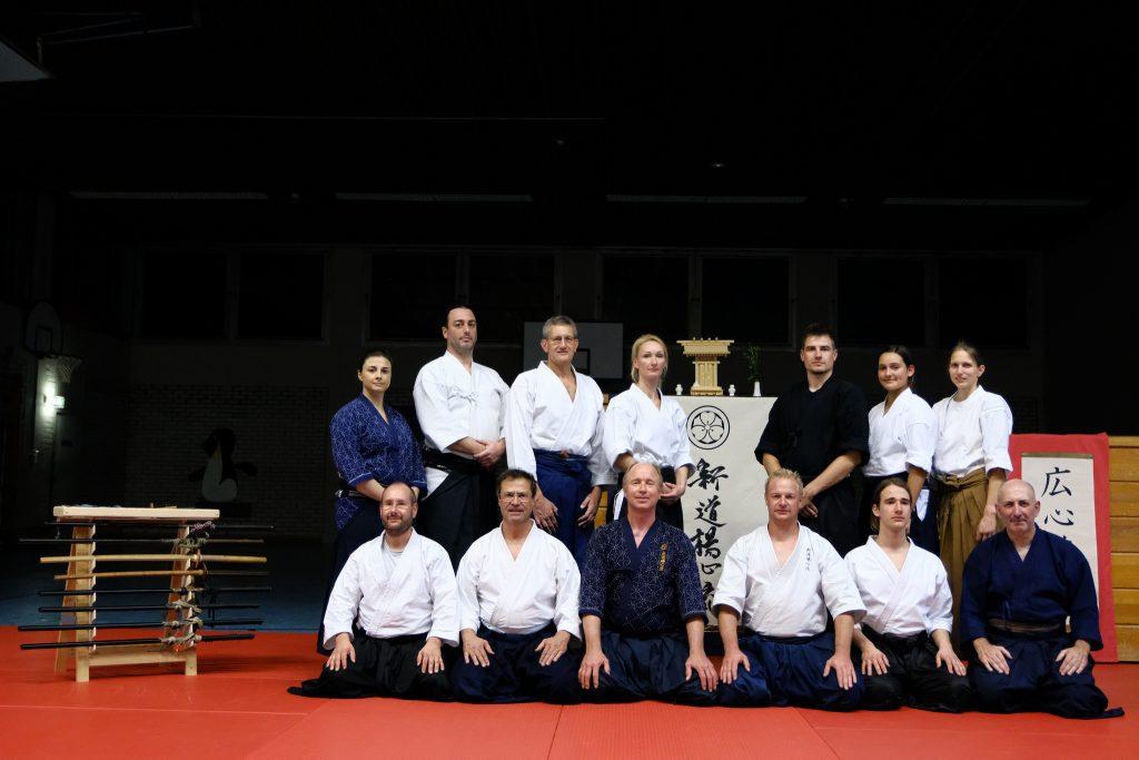 Shindo Yoshin Ryu Kampfkunst