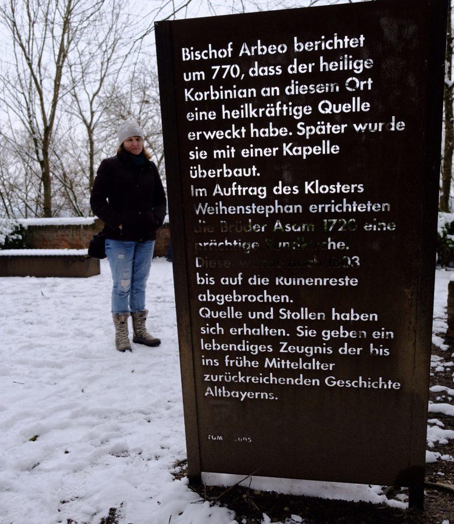 Ein Besuch am Weihenstephaner Korbiniansbrünnlein
