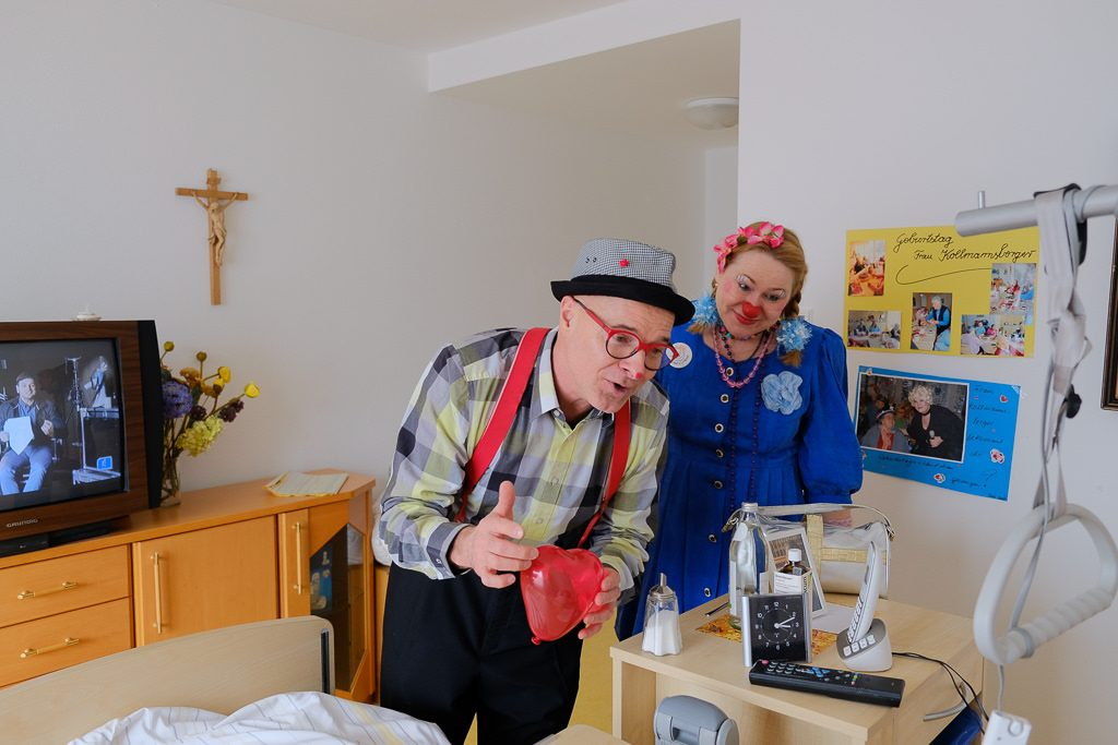 Klinikclowns Seniorenzentrum Freising