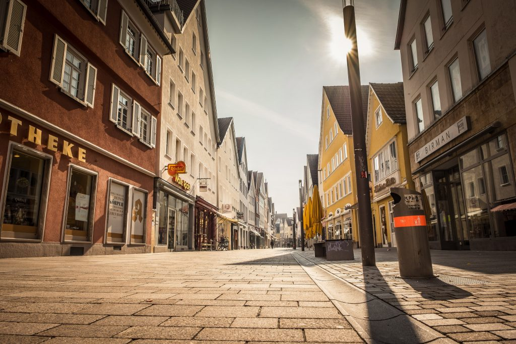 Fußgängerzone Reutlingen