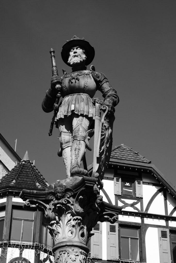 Ritterskulptur Reutlinge