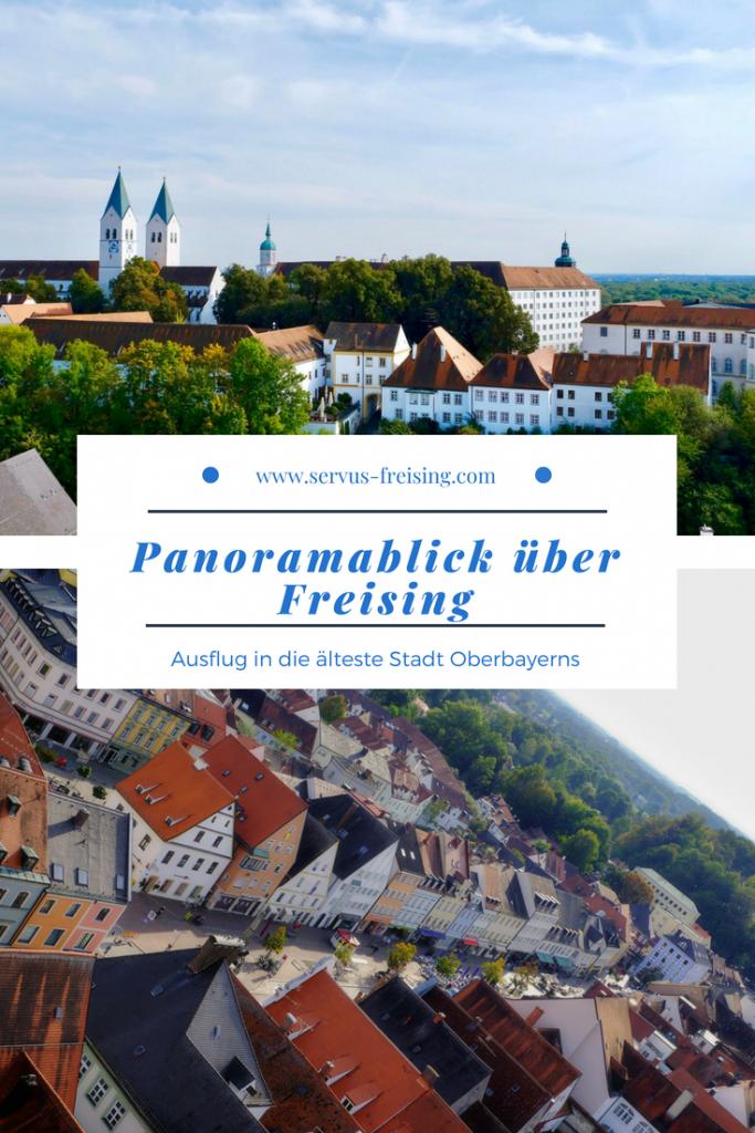 Panoramablick über Freising