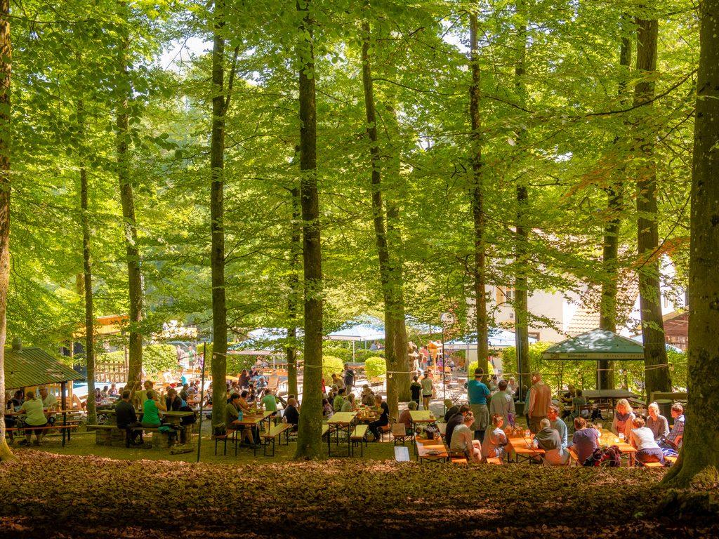 Biergarten Plantage Freising