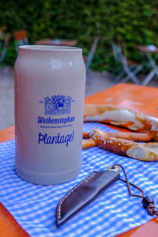 Biergarten Plantage in Freising