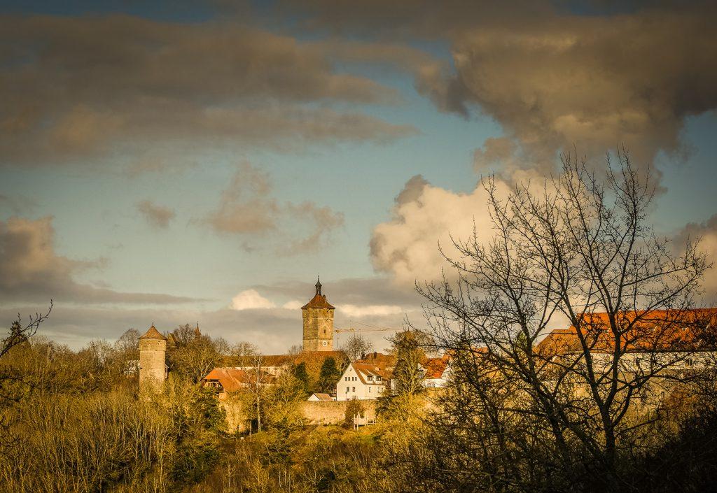 Rothenburg ob der Tauber Ausblick