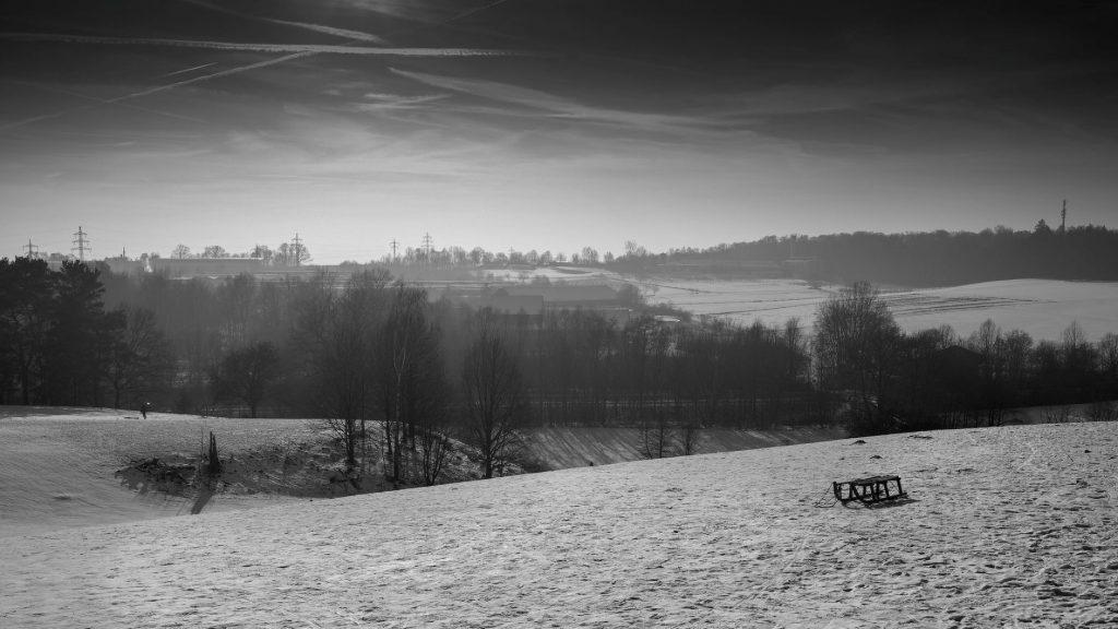 Wintersport in Freising