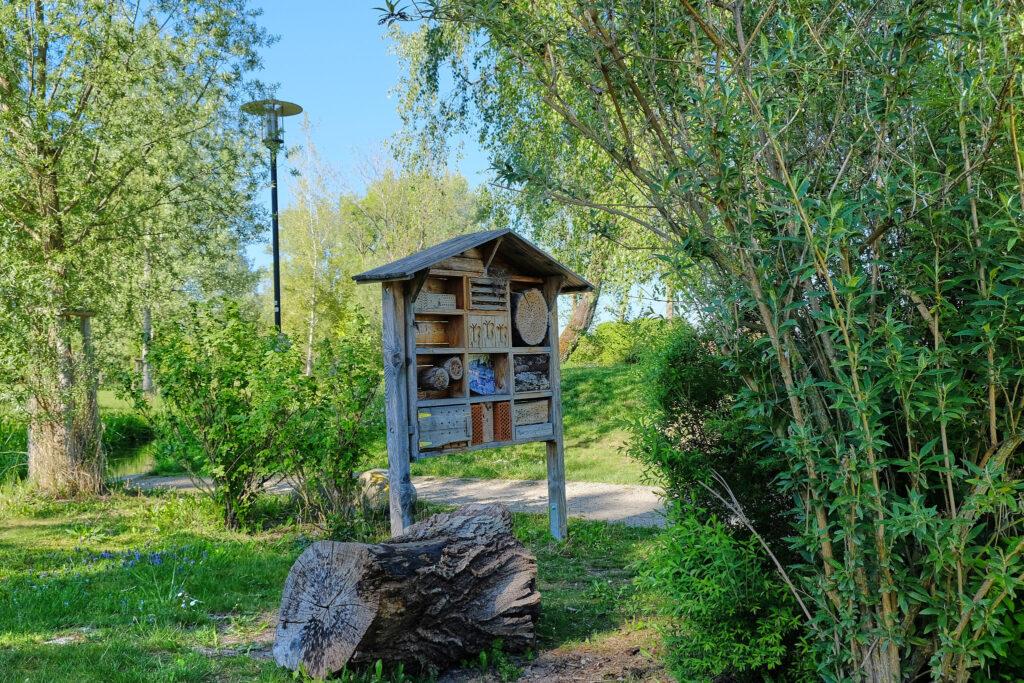 Insektenhotel Wasserspielplatz Goldachpark