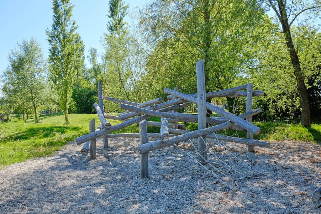 Klettergerüst Goldachpark Wasserspielplatz