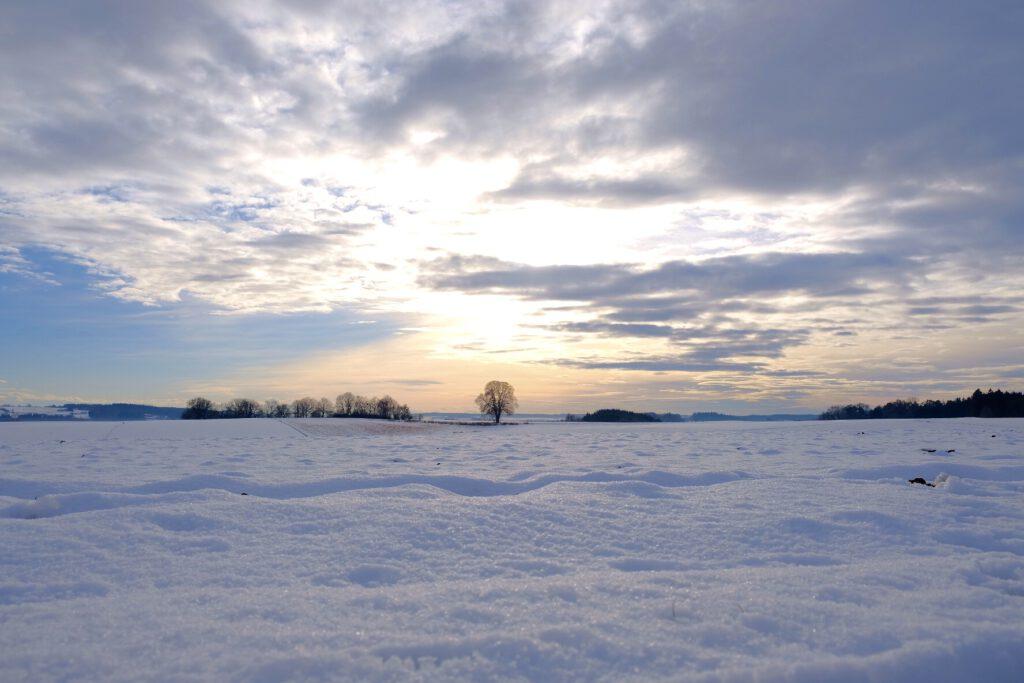 Schneelandschaft Hirschbach